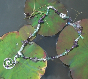 Can the Goddess Crystal Healing Necklace by Jelila Ground You and help you feel certain? - www.jelila.com