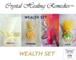 Wealth Set Crystal Healing Remedies - www.jelila.com