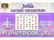 Want to Define the Sacred Geometry in your Aura - and attract a Goal?  - www.jelila.com