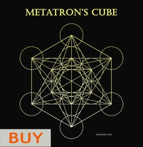 Want to buy Metatron's Cube Poster Print Card? - www.jelila.com