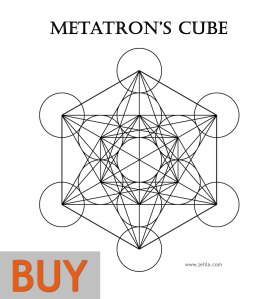 Want to buy Metatron's Cube Print Poster or Card? - www.jelila.com