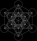 Metatron's Cube - 13 circles joined to form all the Platonic Solids - Jelila - www.jelila.com
