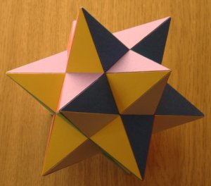 Miracle of Sacred Geometry - Small Stellated Dodecahedron - Sacred Geometry - Jelila - www.jelila.com
