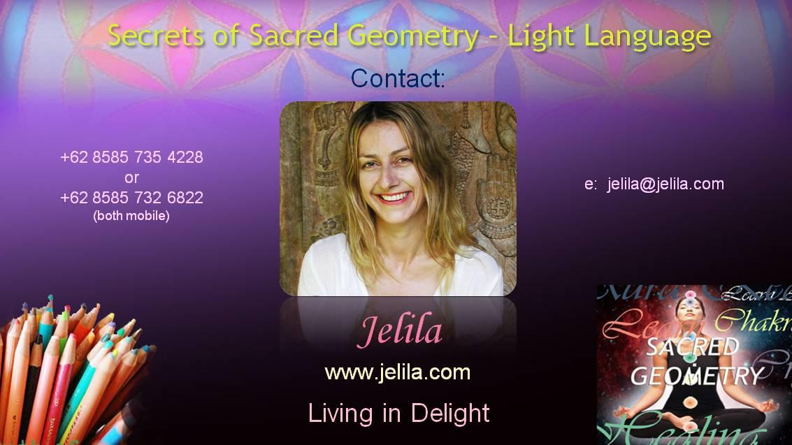 SSSecrets of Sacred Shape Geometry and Light Language Grids Video - Jelila - www.jelila.com