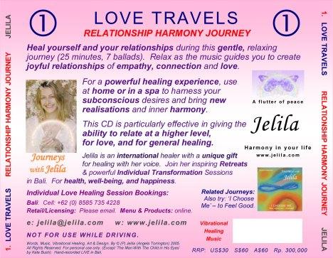 How can vibrational healing music help you feel good, help love, help relationships?  Jelila - www.jelila.com