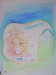 Rishikesh - Pastel - by Jelila - www.jelila.com