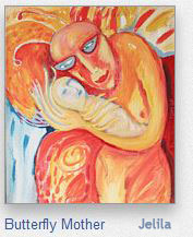 Butterfly Mother by Jelila - we are the butterfly and the blossomer of the Butterfly within! - visit my art! - www.jelila.com