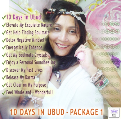 10 Days in Ubud Package 1 with Jelila - Elevate Your Exquisite Nature - Jelila - www.jelila.com