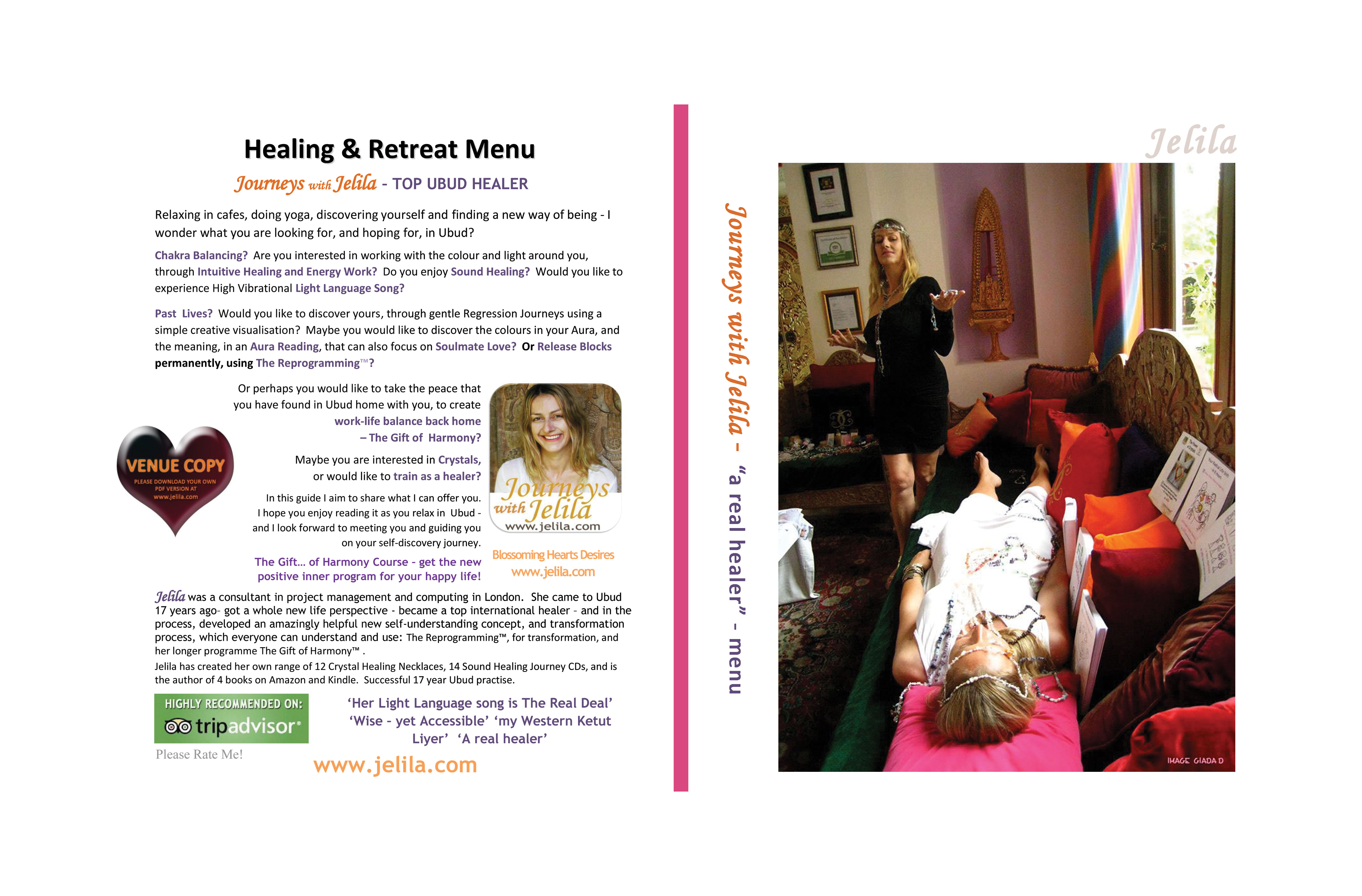 Free Download (6mb) 55 Page Full Colour PDF for a good browse about healing.