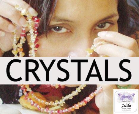 Crystal Healing Necklaces(tm) - Feel Good Naturally - www.jelila.com
