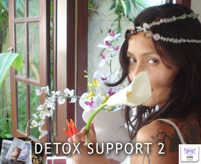 Detox Support Package 2 - Best Detox Retreat Popular at Ubud Sari and One World Retreats - Jelila - www.jelila.com