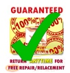 Guaranteed against Breakage - Return Anytime for Free Repair or Replacement - www.jelila.com