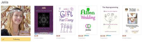 Jelila - Author of Self-Help books on Amazon - The Gift of Harmony, Alien Wedding - www.jelila.com