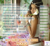 Not Sure What To Book Package 1 - with Jelila - www.jelila.com