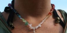 Harmony Crystal Healing Necklace by Jelila - feel good - www.jelila.com