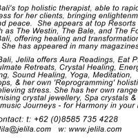 Jelila - Blossoming Heart's Desires - Testimonials, Comments, Reviews - www.jelila.com