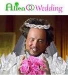 ALIEN WEDDING - Ancient Aliens Giorgio A. Tsoukalos having an Alien Wedding - Book on AMAZON - DNA Annunaki-Slave Species of the gods - www.jelila.com