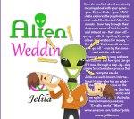 ALIEN WEDDING BOOK  - understand and get offf the treadmill - Ancient Aliens - Annunaki - Slave Species of Gods - Deep Psychology - www.jelila.com