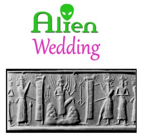 ALIEN WEDDING BOOK by Jelila - Ancient Alien Annunaki - Cuneiform Cylinder Seals - slave species of the gods -  Sumeria  - by Jelila