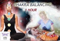Experience a Great Feeling - Chakra Balancing balances and harmonises your Chakras and Aura, releases emotional isses, so you feel peaceful - with Jelila - www.jelila.com