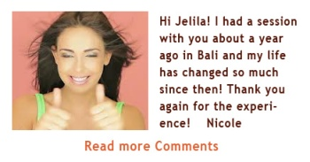 Comments, Reviews, Testimonials about Jelila's Healing - Jelila - www.jelila.com