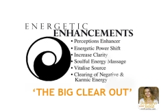 Energetic Enhancements with Jelila - The Big Clear Out - Letting Go - www.jelila.com