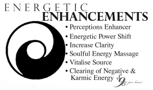 Energetic Enhancements - enhance any area of life you choose quickly and easily!
