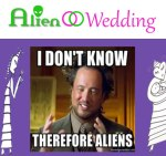 ALIEN WEDDING BOOK - how do you feel about messed DNA - and what to do about it - Annunaki Ancient Aliens Giorgio A. Tsoukalos I don't know therefore Aliens - Slave Species of the Gods - Jelila - www.jelila.com
