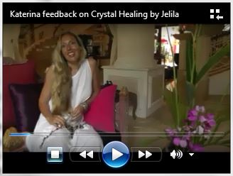 Katherina describes how Crystal Healing with Jelila feels. Video by Giada D. Please continue reading below as video loads. - www.jelila.com