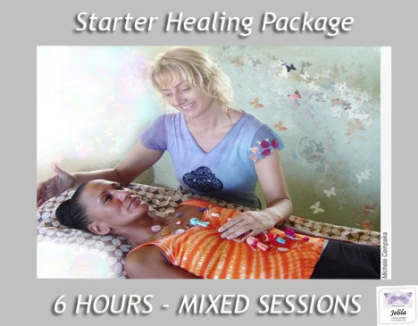 Starter Healing Package with Jelila www.jelila.com