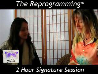The Reprogramming with Jelila - rapidly reach, and change, your deep negativity - freeing you.  www.jelila.com