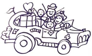 Are all 4 wheels of your 'car' pumped and going in the same direction?  The Gift of Harmony - Jelila - www.jelila.com