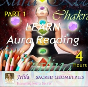 Want to discover how to read the Sacred Shape Geometry in your own aura and in others?  Aura Reading/Sacred Geometry Course with Jelila - www.jelila.com