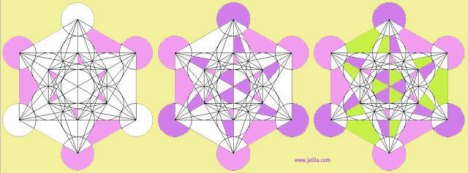 Want to learn Metatron's Cube?  Colouring in the Design is a great way to start! - www.jelila.com