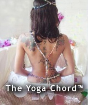 The Yoga Chord by Jelila is a specially programmed 1.2 metre long necklace/belt of 20 kinds of Crystals for Healing Wellbeing and Chakra Balancing.  Programmed to heal and harmonise you as you wear it, it is guaranteed for 10 years against breakage.  Simply blow on your Yoga Chord regularly to release absorbed negativity.  More information:  www.jelila.com