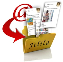 Easily Filter all your Jelila emails into one simple folder - no more cluttered inbox, and your Spiritual Updates are to hand whenever you want! - www.jelila.com