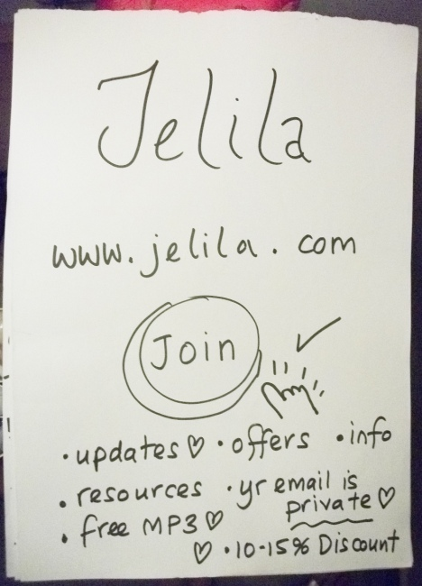 Want to join Jelila's Private Members List completely free and receive an immediate 15% Discount on all products right now?  Jelila - www.jelila.com