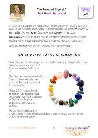 How to Choose Crystals?  The 20 Key Crystals I recommend...