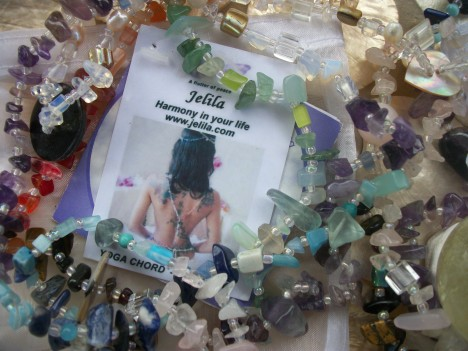 Crystal Strands:  It's easier to use Crystals in healing strands