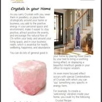 Crystals for home, Crystals for your Living Room, Crystals for your Bedroom, Positive energy