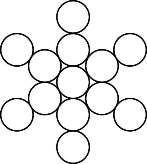 The Fruit of Life.  Sacred Geometry with Jelila www.jelila.com