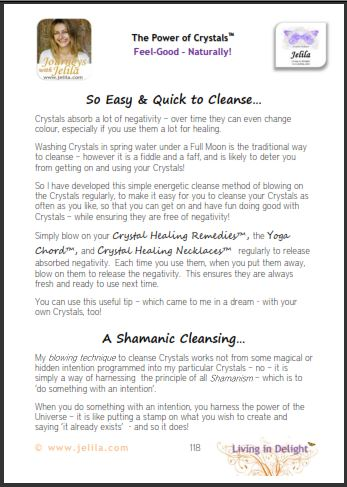 How can I cleanse my Crystals?  What's the Quick way to energetically cleans crystals?