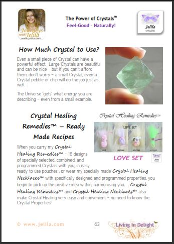 How much of a Crystal should you use?