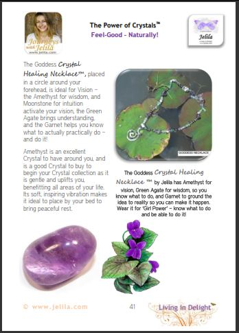 What Crystals help you feel Peaceful?  What Crystals Help Meditation? Crystals open the Third Eye?