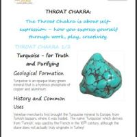 Which Crystals help your Throat Chakra?  Crystals for Cleansing.  Which Crystals help stop Lying?